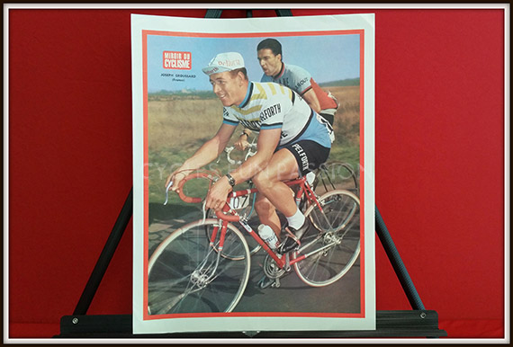 Photo couleur miroir du cyclisme n 41 joseph groussard for Le miroir du cyclisme