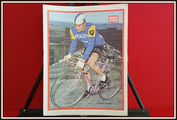 Photo couleur miroir du cyclisme n 33 raymond poulidor for Le miroir du cyclisme