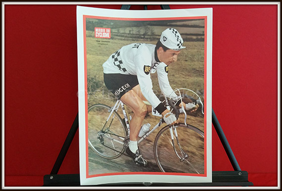 Photo couleur miroir du cyclisme n 42 tom simpson mag98 for Miroir du cyclisme
