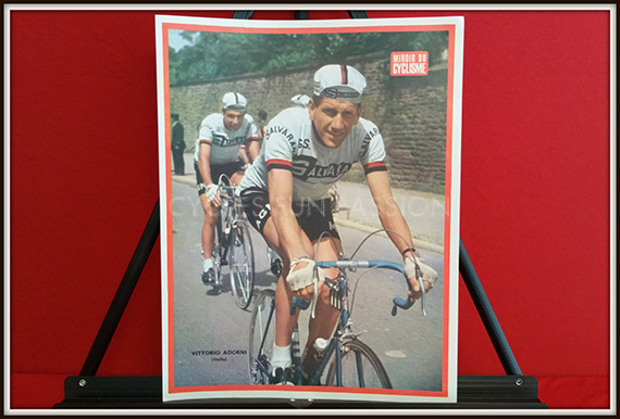 Photo couleur miroir du cyclisme n 49 vittorio adorni for Miroir du cyclisme