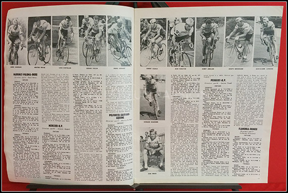 Miroir du cyclisme n 59 carte murale mag44 cycles fun for Miroir du ciclisme