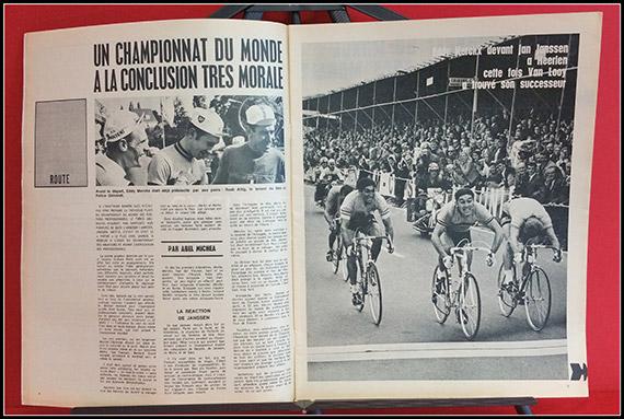 Miroir du cyclisme n 92 photo couleur d sir letort for Desire miroir miroir