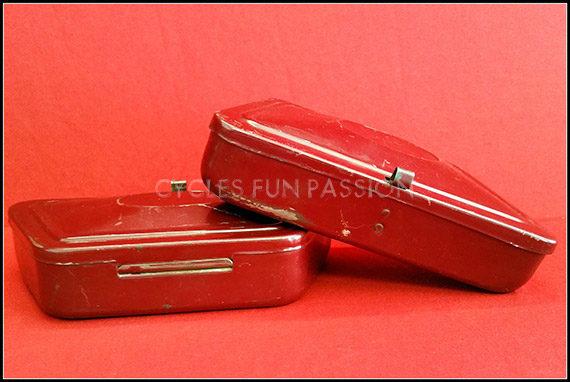 Boites outils de porte bagage v lo vintage ref255bb cycles fun passion - Boite a outils velo ...